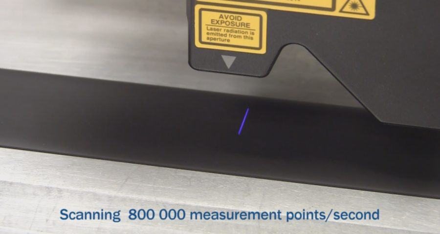 Scanning 800000 PPS